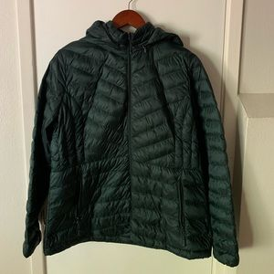 Forrest Green 32 Degrees packable puffer coat XL